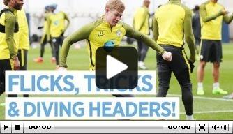 Video: Man City maakt zich op voor treffen in FA Cup