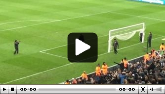 Video: Newcastle-fans vieren promotie met spelers en Benitez