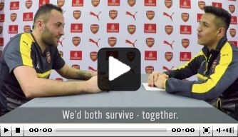 Video: Sánchez en Ospina stellen elkaar vragen
