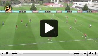 Video: Saúl Ñíguez maakt schitterende goal bij Jong Spanje