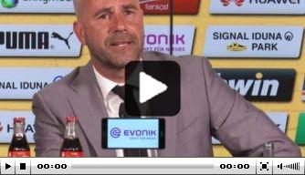 Video: de volledige persconferentie van Bosz in Dortmund