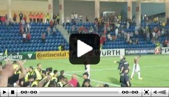 Video: Hongaarse fans woest na blamage bij Andorra
