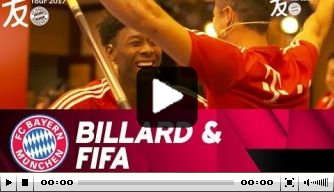 Video: Lewandowski en Alaba stelen de show in China