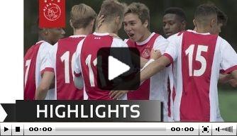 Video: de doelpuntrijke ontmoeting tussen Ajax en Hull