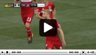 Video: Michael de Leeuw scoort met goede kopbal in MLS