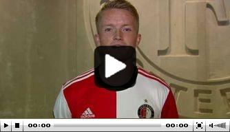 Video: Sam Larsson welkom geheten door John Guidetti