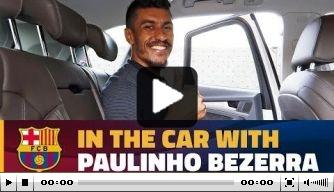 Video: Paulinho praat in auto over transfer naar Barcelona