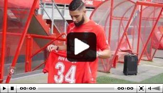 Video: de eerste dag van Tighadouini bij FC Twente