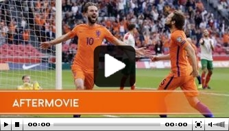 Video: aftermovie van Nederland - Bulgarije