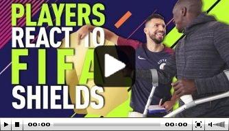 Video: Walker en Mendy hebben moeite met hun FIFA-rating