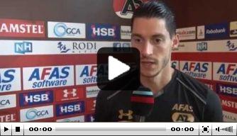 Video: Vejinovic blikt vooruit op duel met Feyenoord