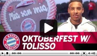 Video: Corentin Tolisso leert over het Oktoberfest