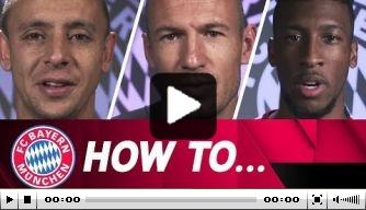 Video: Robben, Rafinha en Coman over de voorbereidingen