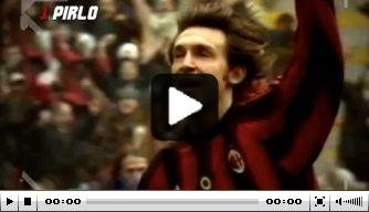 Video: Pirlo's mooiste doelpunten in het shirt van AC Milan