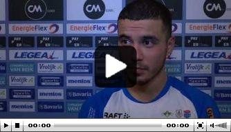 Video: Saymak geniet van eerste uitzege PEC Zwolle
