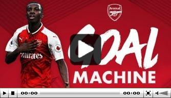Video: Arsenal zet bekerheld Nketiah in het zonnetje