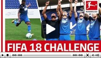 Video: Hoogma doet mee aan vrije trappen challenge FIFA 18