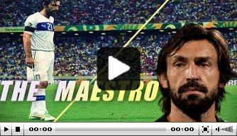 Video: zeventien minuten genieten van Andrea Pirlo