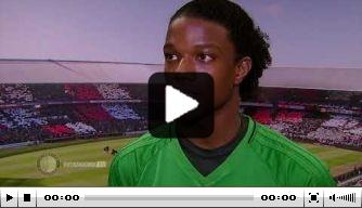 Video: Malacia genoot van debuut in Feyenoord 1