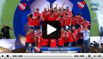 Video: Independiente grijpt Copa Sudamericana na remise