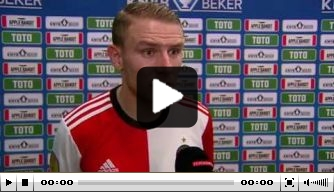 Video: Van Beek over winst op Heracles en 'vliegtuigje'