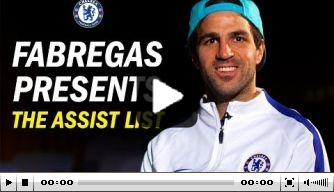 Video: Fabregas over de mooiste Chelsea-assists in 2017