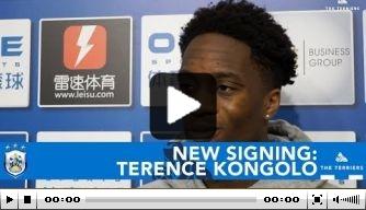 Video: Kongolo geeft eerste interview als Huddersfield-speler