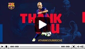 Video: de mooiste momenten van Mascherano bij Barça