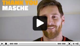 Video: Barcelona-spelers bedanken Mascherano