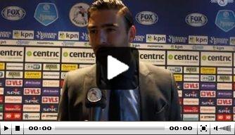 Video: Fischer wil doorpakken na winst op Willem II