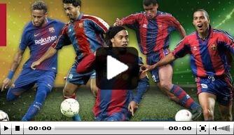 Video: de debuutdoelpunten van Brazilianen bij Barcelona