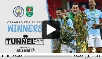 Video: de League Cup-finale van binnenuit bekeken