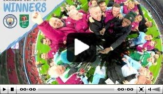 Door de 'ogen' van de GoPro: City viert winst League Cup