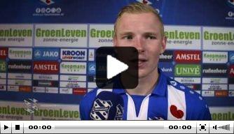 Video: Heerenveen-backs blij met winst op Willem II