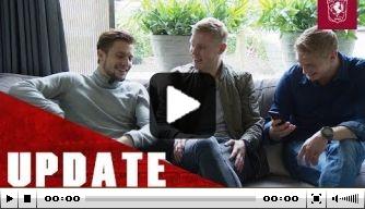 Video: Twente-pechvogel Ter Avest ontvangt ziekenbezoek