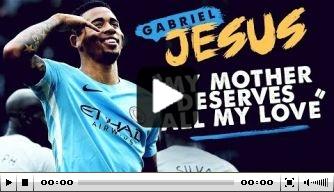 Video: Man City spreekt uitgebreid met Gabriel Jesus