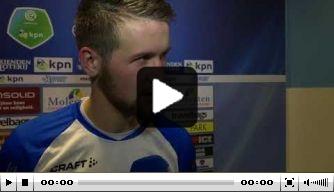 Video: Parzyszek blij met doelpunt en overwinning PEC