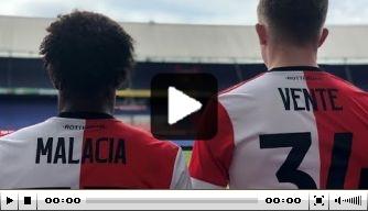 Video: Vente en Malacia ondertekenen hun contracten