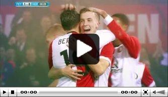 Video: alle bekerdoelpunten van Feyenoord op een rijtje gezet