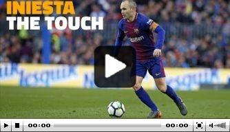 Video: Barcelona blikt terug op beste momenten Iniesta