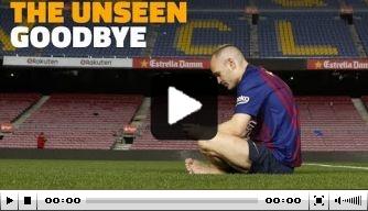 Achter de schermen: de laatste week van Iniesta bij Barça