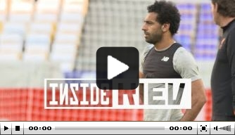 Video: de laatste voorbereidingen van Liverpool op de finale