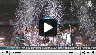 Video: hoe Real Madrid de Champions League-winst vierde