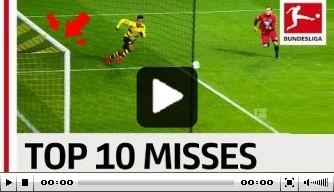 Video: de grootste missers in de Bundesliga dit seizoen