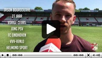 Video: FC Emmen-aanwinst Bourdouxhe stelt zichzelf voor