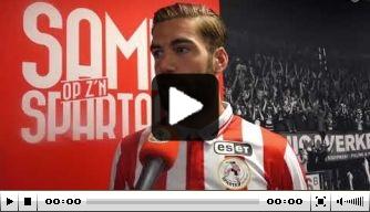 Video: Veldwijk licht zijn overstap naar Sparta verder toe