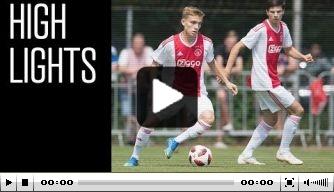 Video: Ajax gaat onderuit in oefenduel tegen FC Nordsjaelland