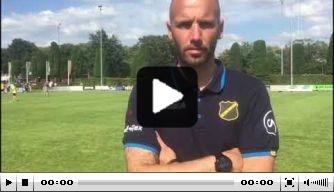 Video: Ontevreden Van der Gaag benoemt Koch tot captain NAC