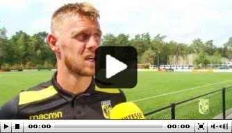 Video: Vitesse kijkt uit naar wedstrijd tegen FC Basel