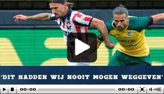 Video: Croux geeft reactie op knotsgek duel met Fortuna